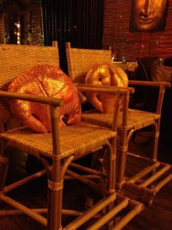 Thailandia: Children Chairs.