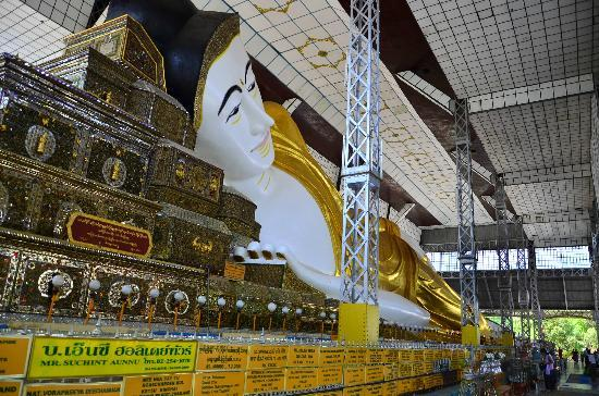 Shwethalyaung Buddha: องค์พระพุทธรูปหลากหลายมุมมอง 