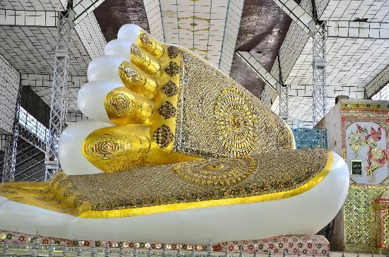 Shwethalyaung Buddha: มงคล 108 ที่พระพุทธบาท