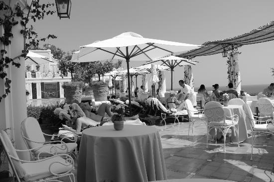 Le Sirenuse Hotel: Restaurant