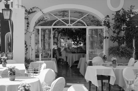 Le Sirenuse Hotel: Dining