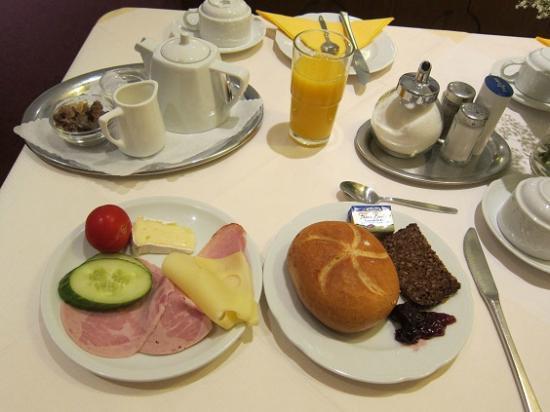 Hotel Regina: 朝食