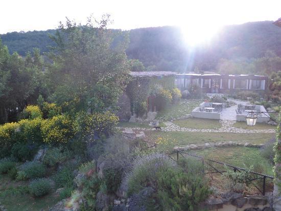 Castello di Petrata: panorama dalla stanza