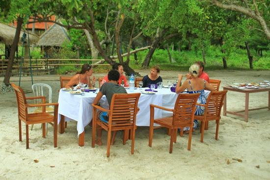 The Exile: Dinner on the beach