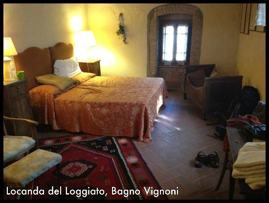 Bagno Vignoni with the antique therme - Picture of Locanda del ...