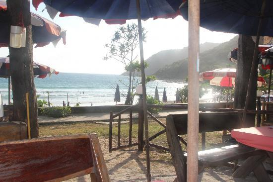 Nai Harn Beach: View from one of the beachside restaurants..