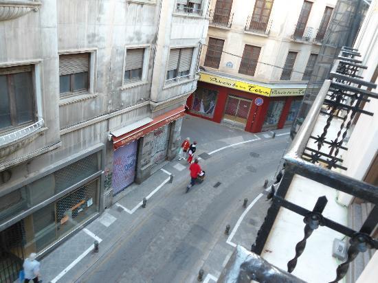 Hotel La Casa de la Trinidad: vista dall'albergo
