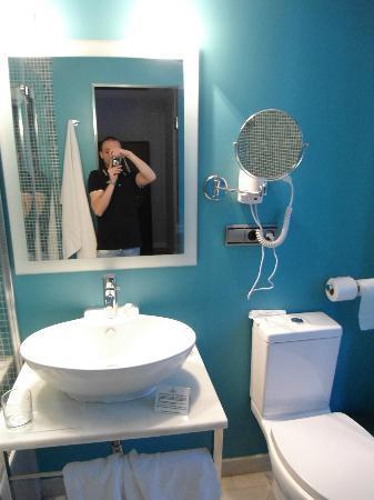 Hotel La Casa de la Trinidad: bagno