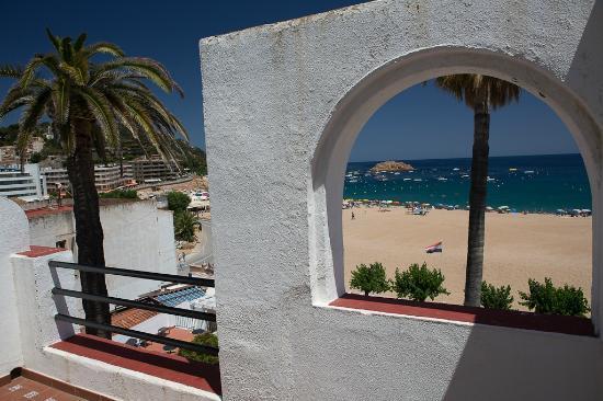 Hotel Diana: Вид с балкона