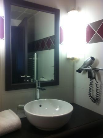 Hotel Alexandra: schönes Bad
