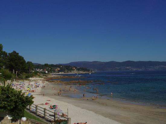Hotel Spa Nanin Playa: vista de playa desde piscina-2