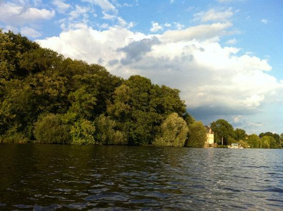 Potsdam per Pedales: View from the boat