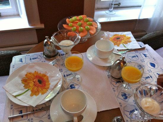 Vondel View B&B: Colazione/Breakfast