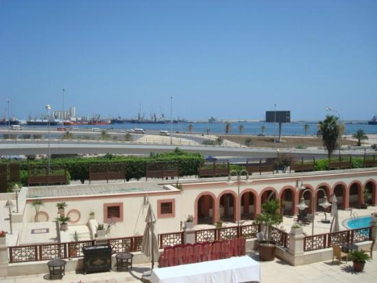 Al Waddan Hotel : The harbour from the balcony