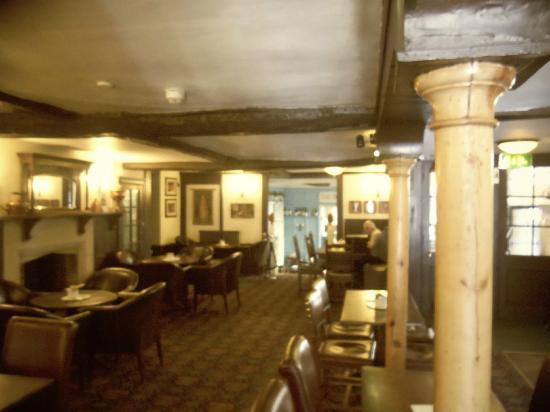 The Bear Hotel Market Place: bar area