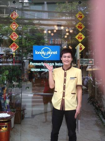 Nova Hotel: The lovely concierge Thu