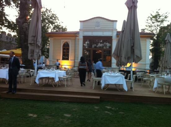 Karakol Restaurant garden