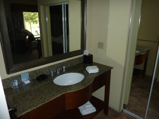 Hampton Inn Okeechobee - Lake Okeechobee: lavabo
