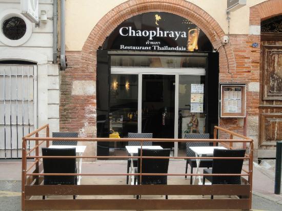 Chaophraya - Restaurant Thailandais: Chaophraya Restaurnat Terrasse