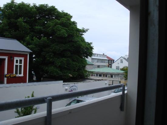 Guesthouse Sunna: vue de la fenêtre