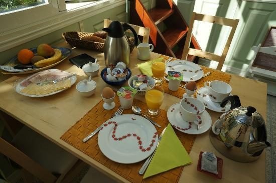 Parkzijde Bed & Breakfast: breakfast selection 1