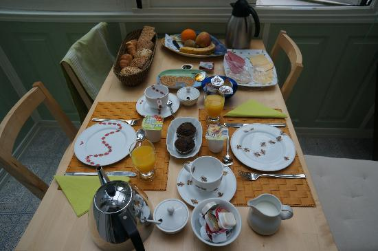 Parkzijde Bed & Breakfast: breakfast selection 2