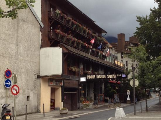 Park Hotel Suisse & Spa: 少し捜しました