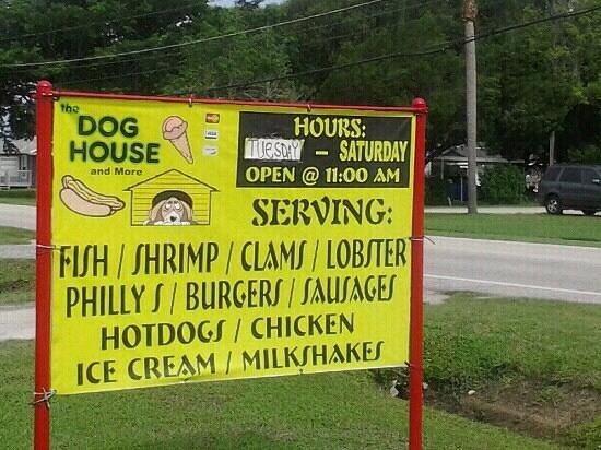 The Dog House and More: Road Sign
