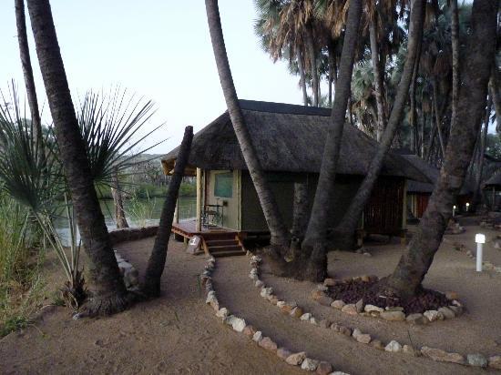 Omarunga Lodge & Campsite: seul au monde