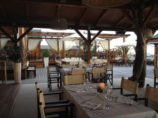 Tirrenia, İtalya: il ristorante