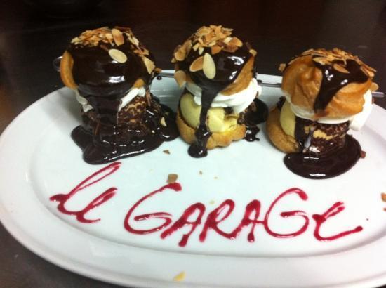 Le GaraGe Restaurant: merci