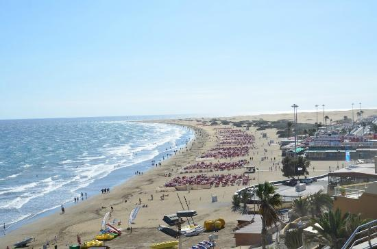 Corallium Dunamar By Lopesan Hotels: Dunas view from hotel