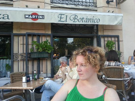 Restaurante El Botanico: Outside El Botanico
