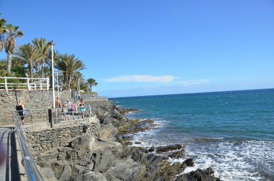 IFA Dunamar Hotel: View from promenade