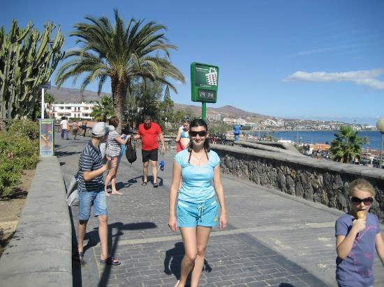 IFA Dunamar Hotel: promenade