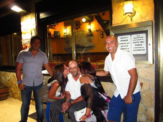 Trattoria del Porto : Il miglior cuoco di Lampedusa