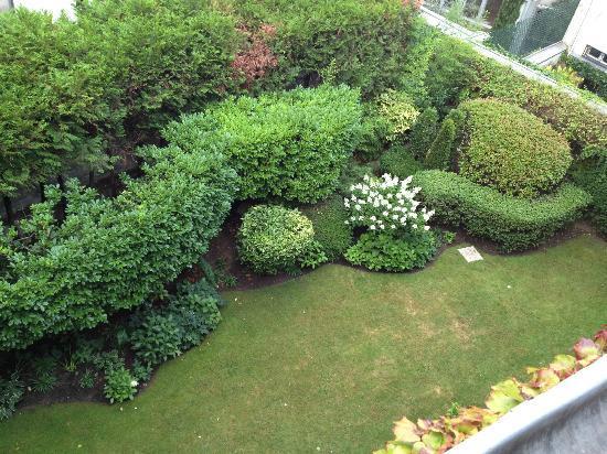 Relais Christine: 上から見たお庭