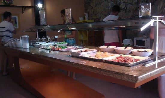 Alisios Playa: colazione