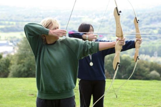 Taff Valley Quad Bike & Activity Centre: Archery at Taff Valley