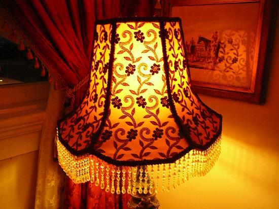 Queen Anne Hotel: Lamp in Sitting Room
