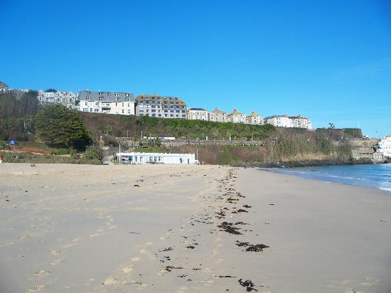 Porthminster Beach without the crowds