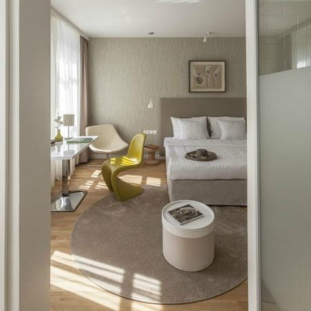 Casati Budapest Hotel : natural double room