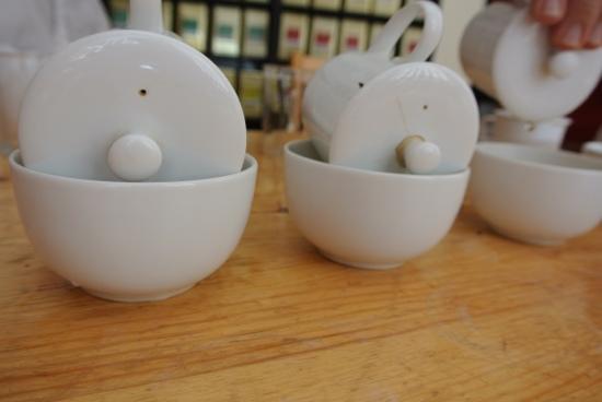 Franz & Sophie World of Tea: Tasting different Oolong teas