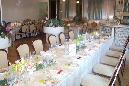Al Gabbiano Hotel: Sala estiva