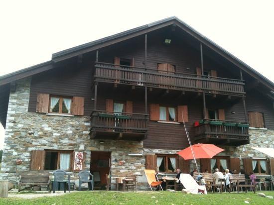 Mazzo di Valtellina, Italy: ad agosto