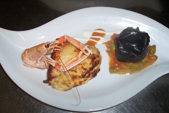 Al Gabbiano Hotel: Primo piatto