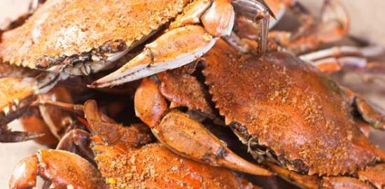 Seaside Restaurant & Crab HSE: Steamed Crabs