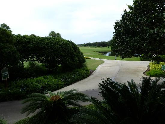 Villas of Grand Cypress: view from back of clubhouse