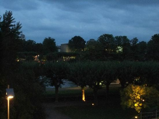 Apartments Duval: View from room at night