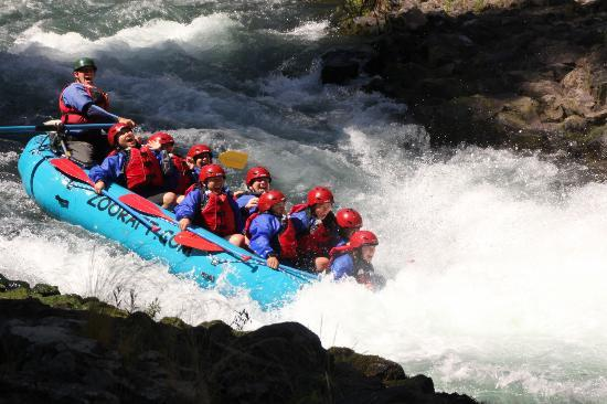 Zoller's Outdoor Odysseys: White Salmon River Rafting With Jr as our guide